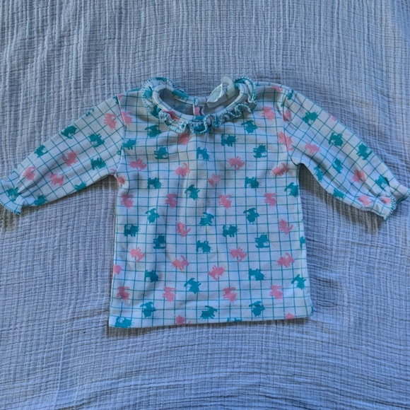 Vintage long-sleeved baby shirt